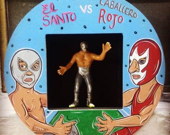 The santo vs the Red Knight