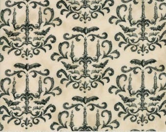 Moda - Eerily Elegant Parchment Candelabra  **Half Yard Cuts**