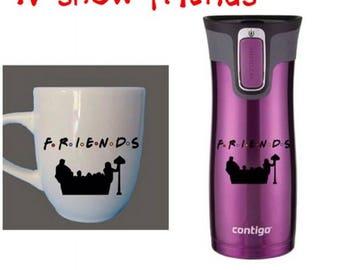 Friends tv show sticker