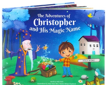 Gifts for Boys A Personalised Story Book - Great Birthday Present for Children Aged 0-8 Years, Help Kids Read, Keepsake - NEXT DAY DISPATCH