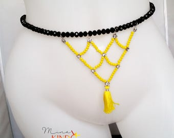African waist beads, belly chain, body chain, waist chain, hip chain, waist beads, body jewelry, african jewelry, ethnic jewelry