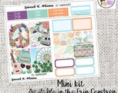 Adventure weekly kit Concert Carnival Boho Music Festival kit Mini Weekly kit Erin Condren Happy Planner planner stickers
