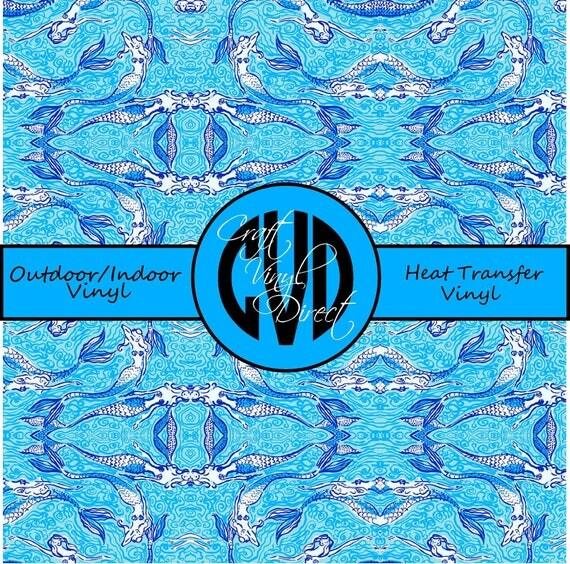 Beautiful Patterned Vinyl // Patterned / Printed Vinyl // Outdoor and Heat Transfer Vinyl // Pattern 122