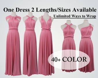 Rouge Infinity Dress bridesmaid dress infinity dress long bridesmaid dress convertible bridesmaid dress long convertible dress multiwaydress