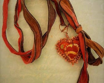 Glorious heart adjustable necklace