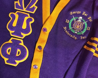 Old School - Omega Psi Phi Cardigan