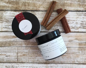 Natural Toothpaste +Plus | CINNAMON | Charcoal Toothpaste + Baking Soda