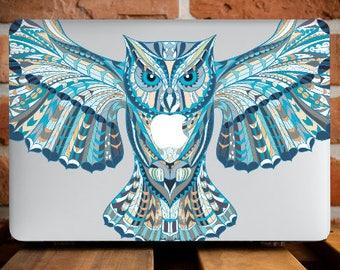 Animal Owl MacBook Pro Retina 15 Case MacBook Hard Cover MacBook Pro 13 Case Macbook Case 12 MacBook Air 11 Case Laptop Mac 13 Laptop WCm126