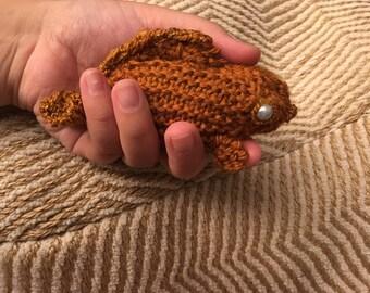 Knit goldfish tank mini