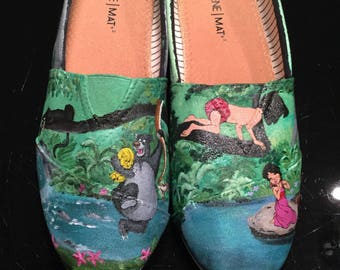 Jungle Book Inspired Toms