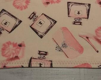 Handmade Burp Cloths - Fashion Collection - Baby Girl - Fancy - Princess - Pink