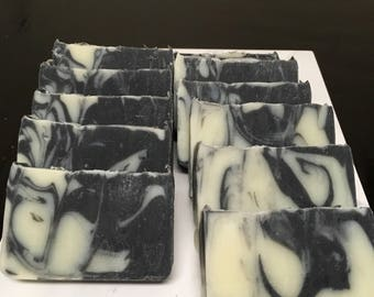 Activated Charcoal Detox Soap - Cedarwood & Sweet Orange Essential Oil