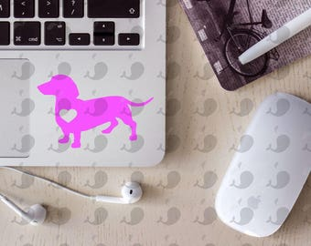 Dachshund Decal, Weenie Dog Decal