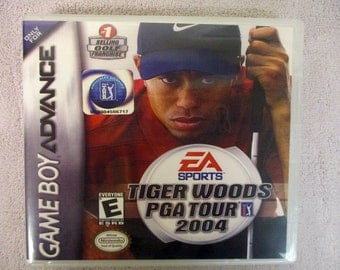 Tiger Woods PGA Tour 2004 GBA -GameBoy Advance Custom Case  (***No Game***)
