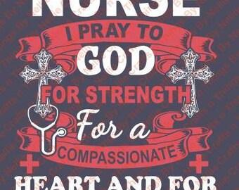Nurse Healing Hands SVG