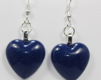 Brand New Handmade Heart Shaped Earrings