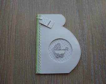 Card to announce the birth of baby