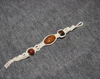 Flat knot keychain