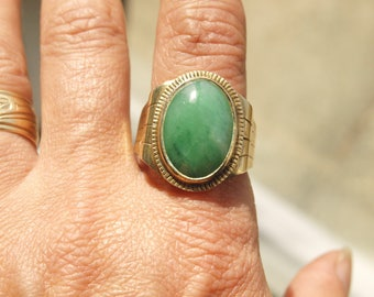 Antique Man's Jade Ring