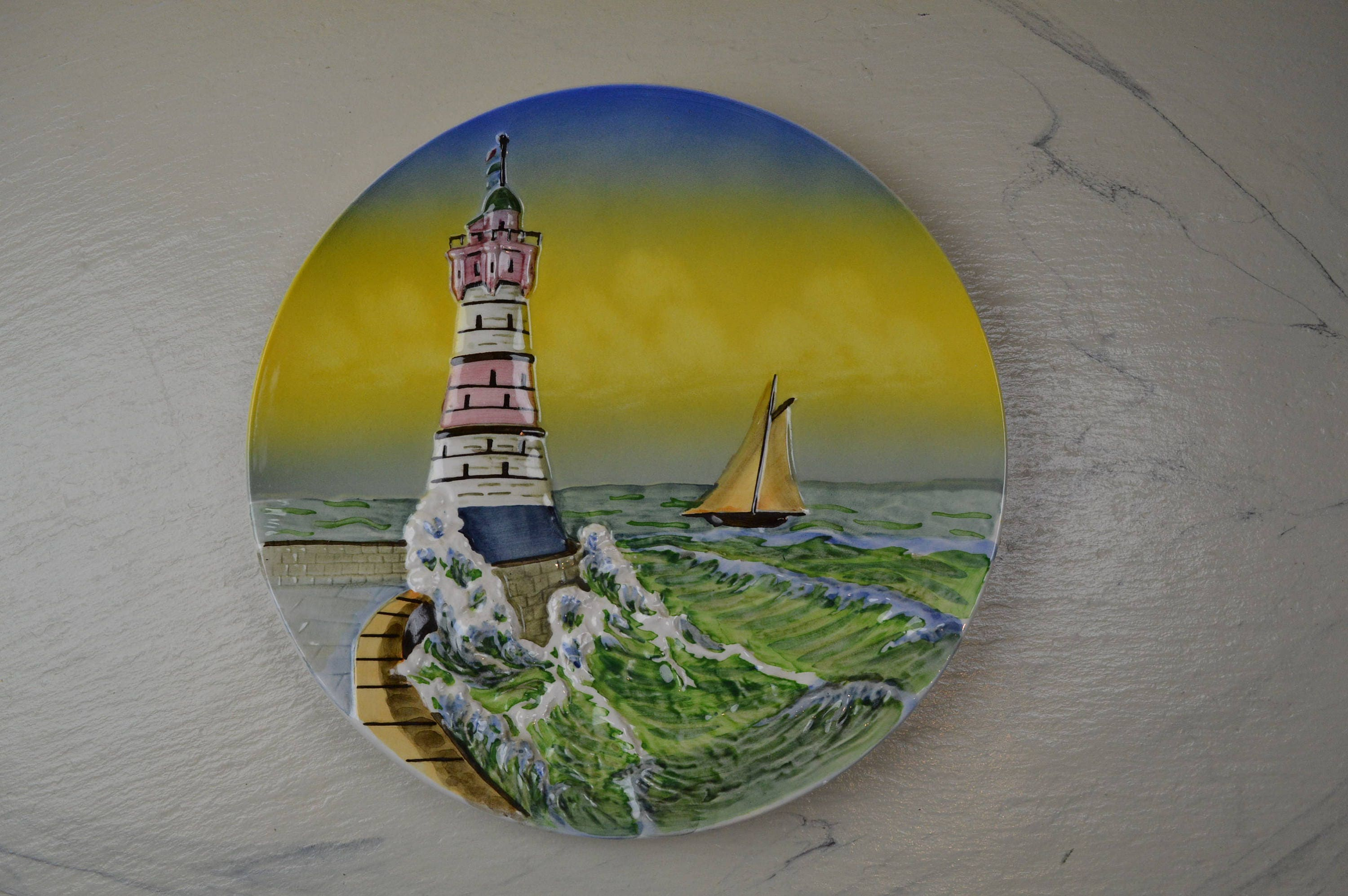 Famous Lighthouse Metal Wall Art Collection - All About Wallart ...