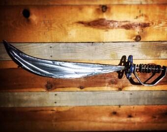 Scrap Metal Sword Sculpture