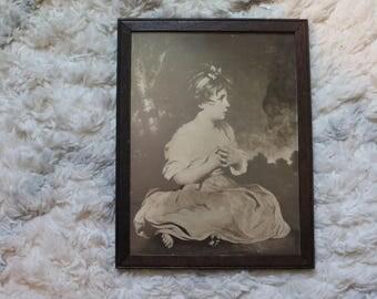 Framed Print of Vintage Drawing