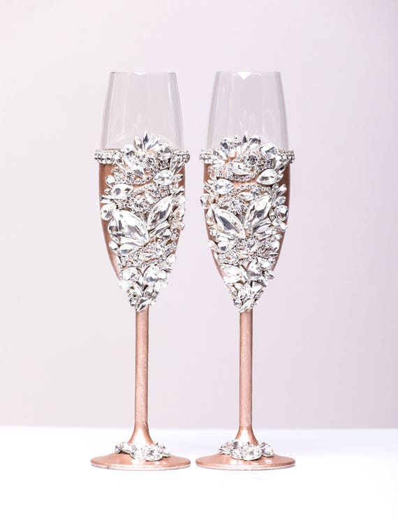 Personalized Wedding Glasses Champagne