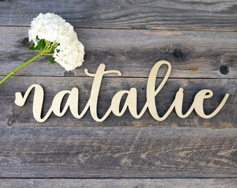 "Custom Name 24"" Laser Cut Sign 