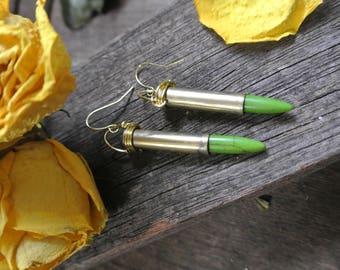 bullet earring