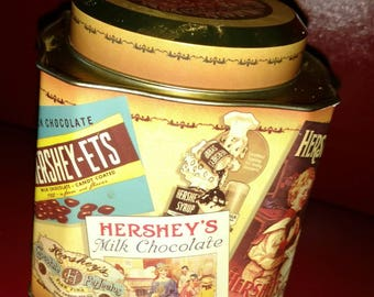 1995 Hershey's Vintage limited  Edition #3  Collector's Tin Canister --