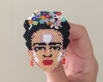 Frida Kahlo brooche