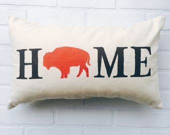 Buffalo Home Pillow