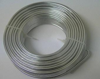 Aluminium 3.2mm Modelling Craft Wire-Model Making-Armature Building