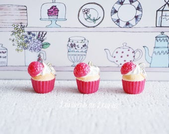 3 markers knit raspberry Cupcake