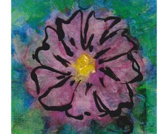Little Bloom I - original painting