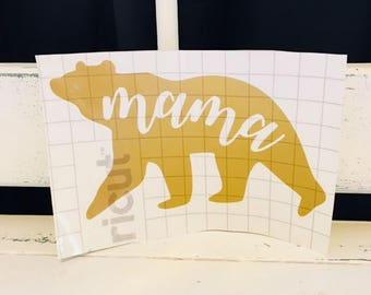 Mama Bear Decal