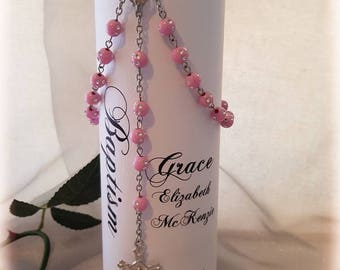 Personalised First Holy Communion / Confirmation Candle