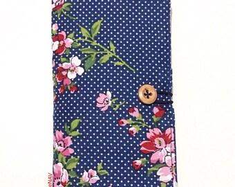 Tea Bag Wallet/ gift for tea Lovers/ tea bag organizer/6 pocket travel teabag wallet/ gift for her/