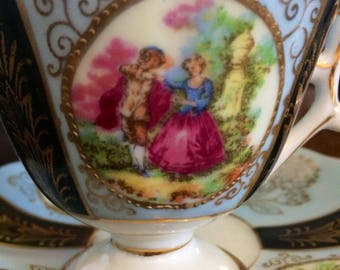 Vintage Royal Sealy Japan Teacup and Saucer
