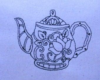 Decorative Teapot 010 4x4