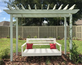 Bed Swing Porch Daybed, large platform swinging