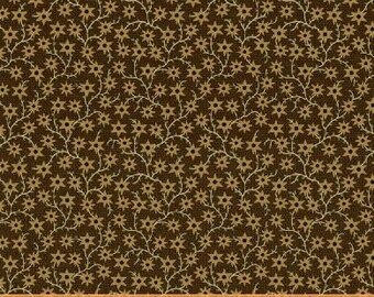 40215A 3 / Kindred Spirits / Windham / Fabric / Brown /