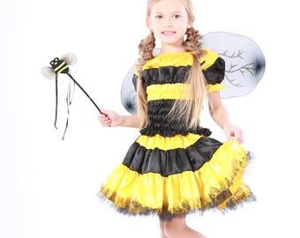 Bee costume, helloween costume, bee dress, boy bee costume, girl bee costume, kids costume, girls costume, Girls Halloween, helloween,