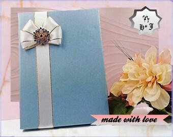 Photography box. Card holder. Wedding card box. Anniversary card box. Box with ribbon. Paper box. Handmade card box. Love card box.