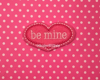 BE MINE Felties 4 pc set Heart