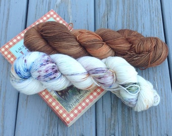 Little House on the Prairie - Hand Dyed yarn