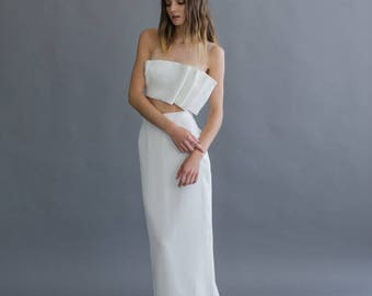 Bridal Seperates 'W.F. Top' for Cool Brides