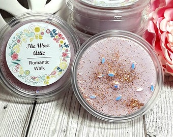 ROMANTIC WALK 2oz soy wax melt shot pot tart The Wax attic