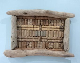 Driftwood Cork Board