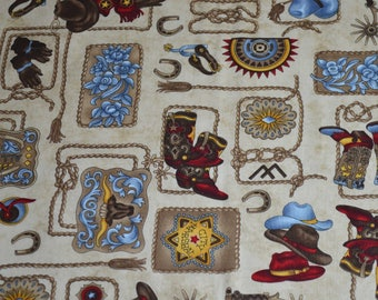 FREE SHIPPING - Whimsical Country/Rodeo themed placemats, reversible placemats, linens, gift, birthday gift, housewarming gift